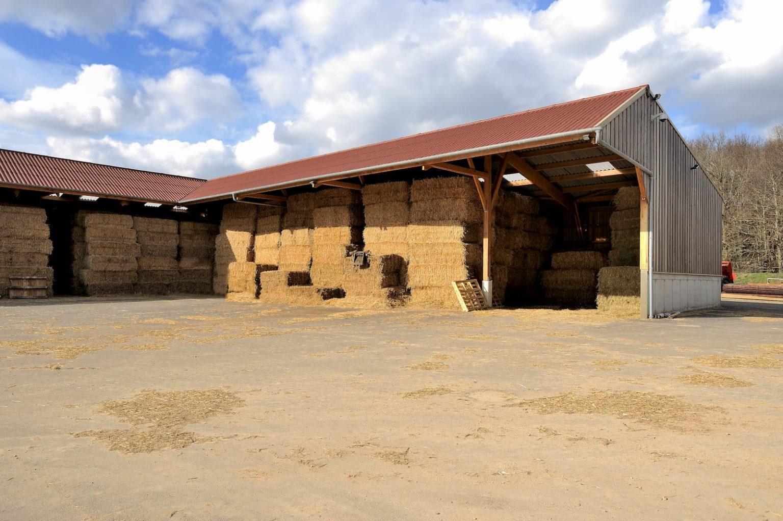Construction d'une extension de bâtiment agricole au Haras de Bory (78)