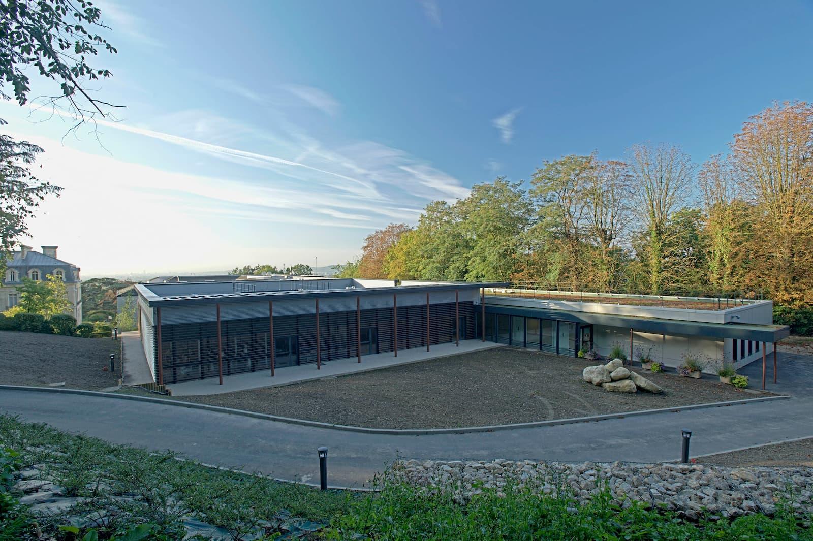 Construction d'un bâtiment pour l'Hôpital de Taverny dans le Val d'Oise