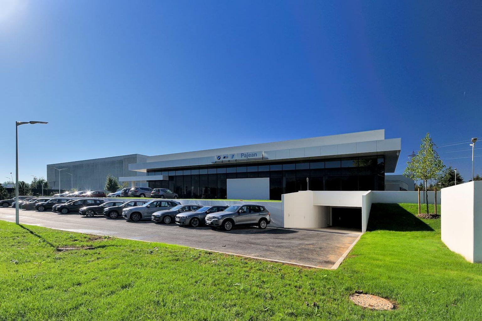 ALM en charge de la construction d'une concession automobile BMW dans les Yvelines