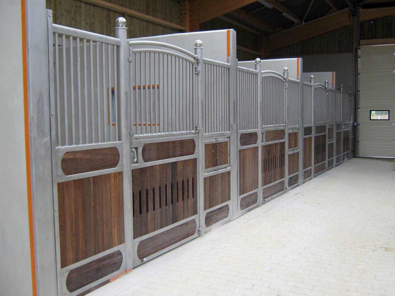 Construction et aménagement de box chevaux pour le Haras de Bory (78)