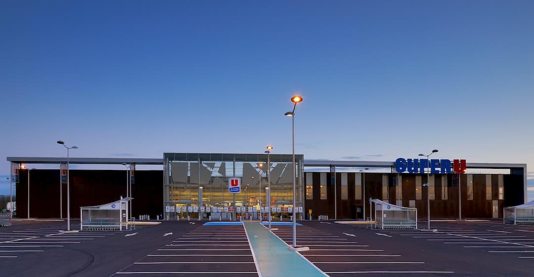 Construction d'un supermarché Super U à Auneau - 28