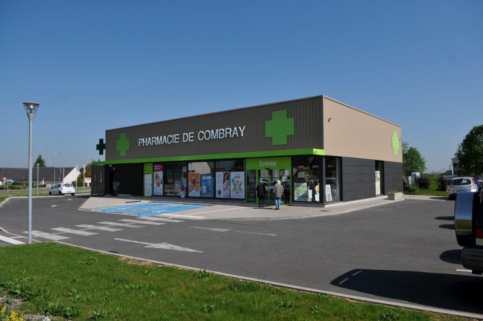 Construction de la pharmacie à Illiers-Combray (28)